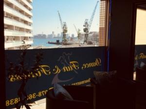 神戸は今日もいいお天気!ダンス日和だよ。